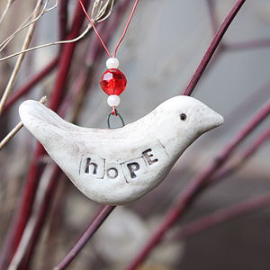 Porcelain Ceramic Bird Decoration