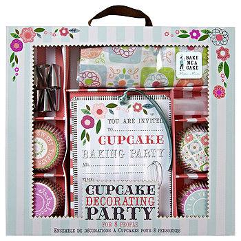 Cupcake Bakery Party Kit