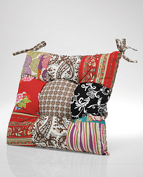Patchwork Seat Cushion