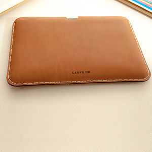 Leather Sleeve For iPad Mini / Retina