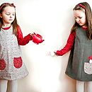 Thumb girls toadstool dress
