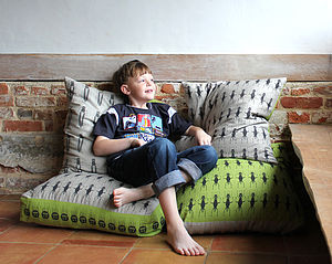 Insect Bean Bags - children's room