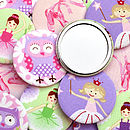 Set Of Girls Party Bag Gift Mirrors