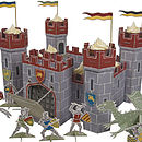 Knights Castle Cake Display And Toy Castle
