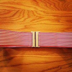 Stripey Waist Belt - belts