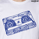 50% Off: 'Cassette Tape' Music T Shirt