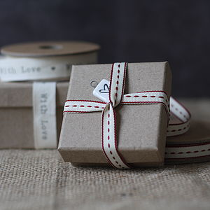 Brown Cardboard Gift Boxes - wedding favours