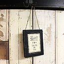 'How Sweet…' Distressed Sign