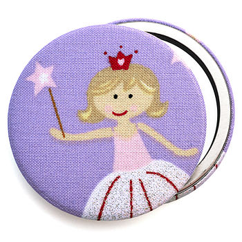 ''Princess'' Girls Compact Mirror