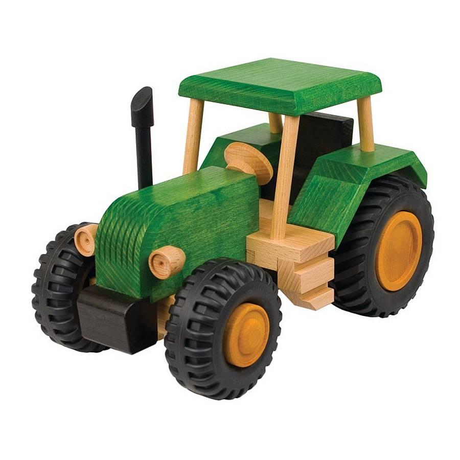 Как сделать игрушку трактор