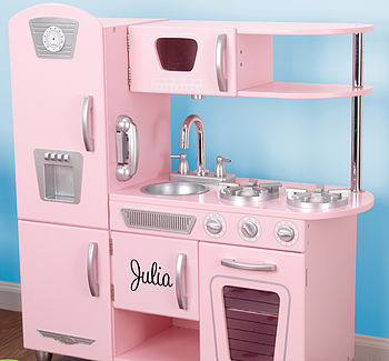 Personalised Retro Play Kitchen