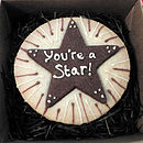 Personalised Shortbread Star Biscuit