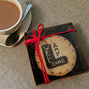 Personalised Shortbread 'L Plates' Biscuit
