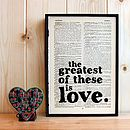 Wedding Quote Typographic Print