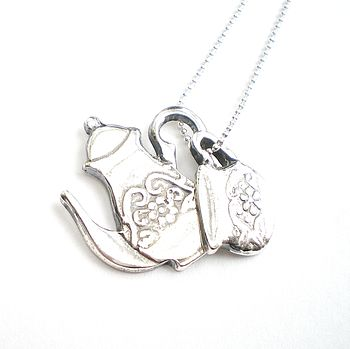 Anyone For Tea Necklace