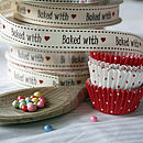 Baked with love 3m ribbon reel