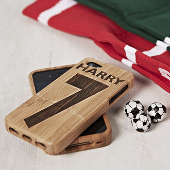 Personalised Football Cover For IPhone