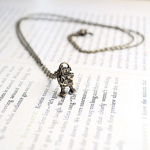 Robot Necklace - women's jewellery