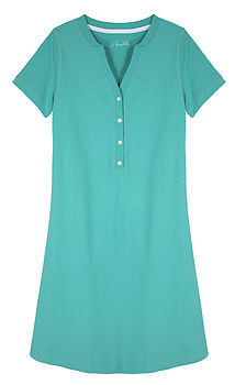 Egyptian Cotton Sleep Tee- Jade