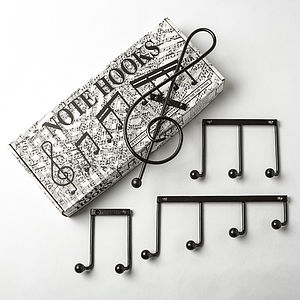 Note Hooks - home decorating