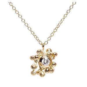 Enchantment Cluster Necklace - fine jewellery
