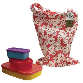Child's Daisy Tote Bag