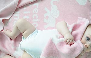'Precious Little Bundle' Girl's Blanket - baby care