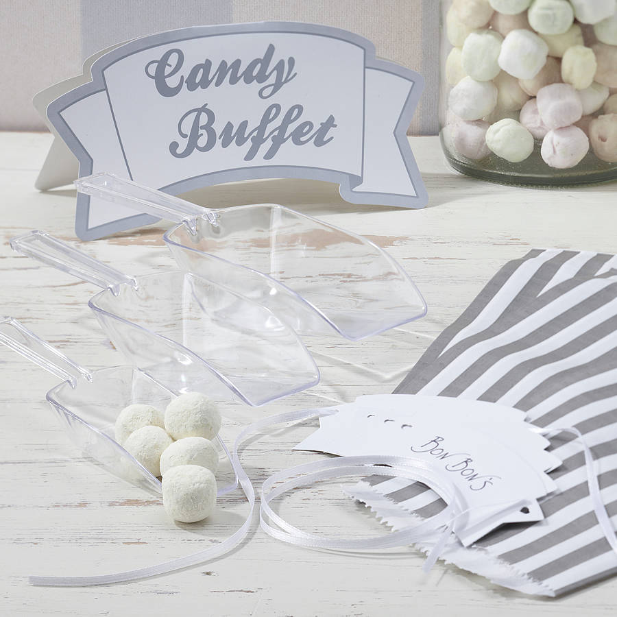 candy bar kit with scoops, bags, sign & tags by ginger ray ...