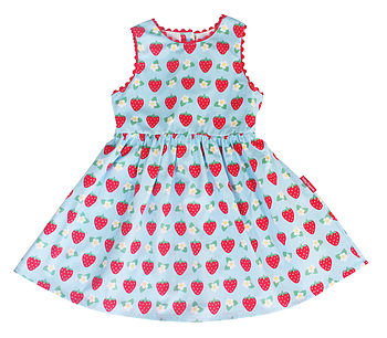 Girl's Strawberry Party Dress