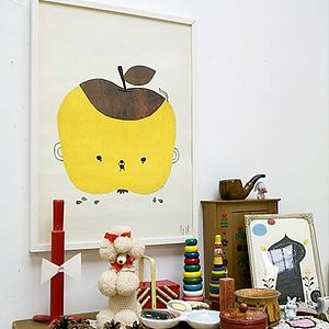 Apple Papple Print - pictures & prints for children