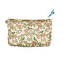 Bird In Blossom Ivory Wash Bag