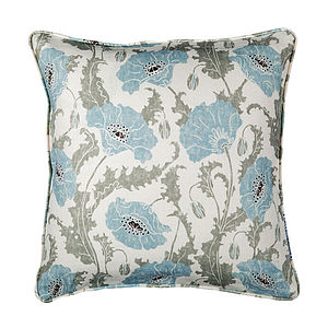 Poppies Cushion - cushions