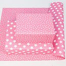 Pink Star Wrapping Paper