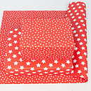 Red Star Wrapping Paper