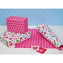 Multi Hearts Wrapping Paper Double Sided