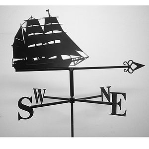 Tall Ship Weathervane
