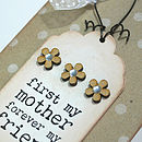 'Mother, Forever My Friend' Card And Keepsake
