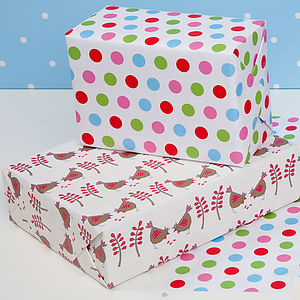 Hen Double Sided Wrapping Paper - wrapping paper