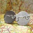 River Thames Cufflinks