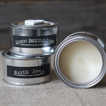 Scented Candle In Tin