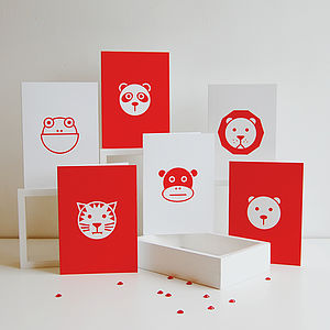 Child's Animal Card