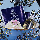 'Keep Calm' Tea And Soap Gift Set
