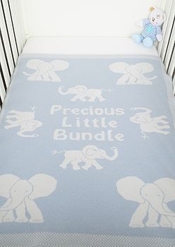 'Precious Little Bundle' Boy's Blanket