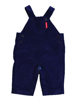 Navy Blue Cord Dungarees