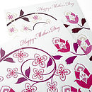 Hand Embossed Mother's Day Card