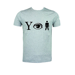 Why Aye Man T Shirt - men's fashion