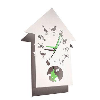 Animalask Clock