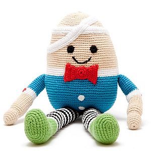 Humpty Dumpty Soft Toy - keepsakes