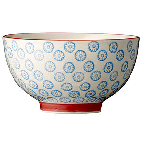 Japanese Print Bowl - kitchen