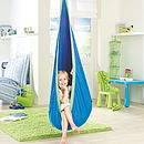 Kid's Hanging Pod Blue